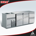New Design Stainless Steel Bar Equipment/Bar Working Station/Bar Wine Making Table