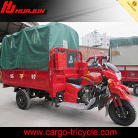 closed cabin cargo tricycle/reverse trike motorcycles/300cc choppers