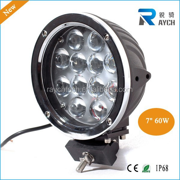 High Power Off Road 12v 24v 60w Led Working Light SUV 4X4 60W LED WORK LIGHT