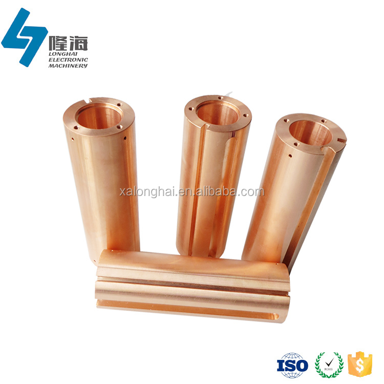 High precision cnc turning copper thread starter bushing