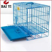 High Quality Foldable Heavy Duty Stainless Steel Dog Cage