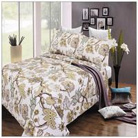 Indian Cotton Bedspread Quilt Coverlet, Quilt Bedding Set Wholesale