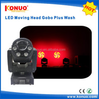 Amazing effect lights 30W spot 6x10W RGBW wash moving head led gobo projector