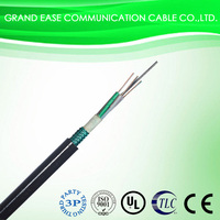 China made outdoor GYTS metallic aerial and duct 6 core fiber optical cable prices