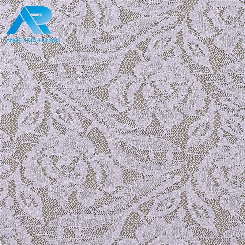 2017 hot selling tulle french embroidery lace garment fabric for bulk