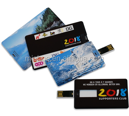 how to use a credit card style usb