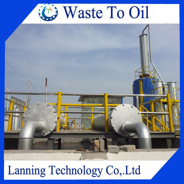 85% oil yield Eco-friendly multi-safety waste oil recycling plant producing diesel