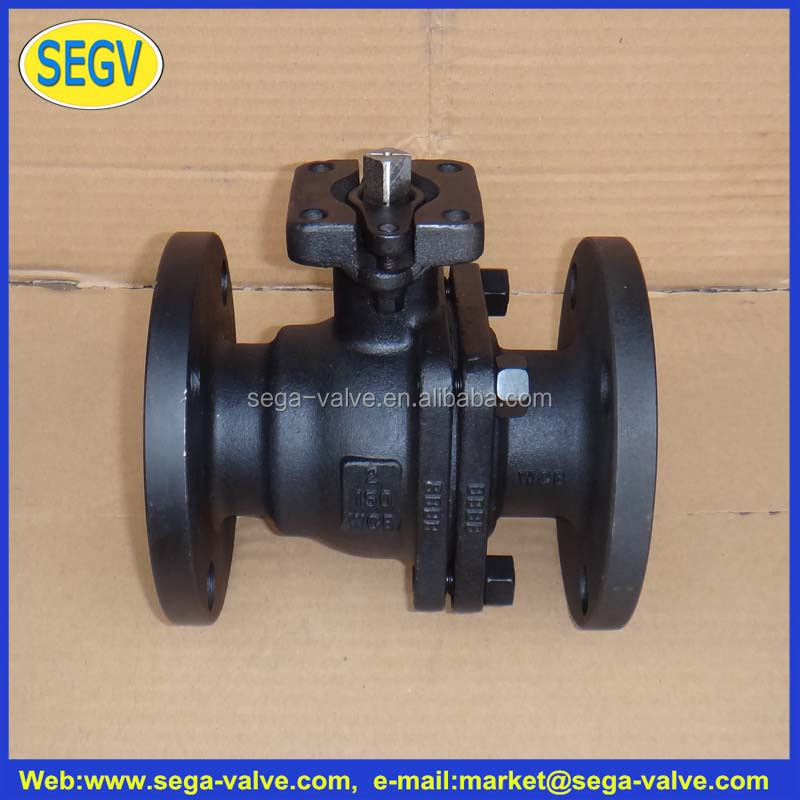 China Professional Manufacturer Hot Sale, PN16 Cast Iron, Water, <strong>Gas</strong> & Oil Control, Flanged End Ball Valve