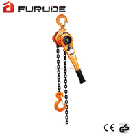 All-steel lever pulley block pulley tackle and hoist
