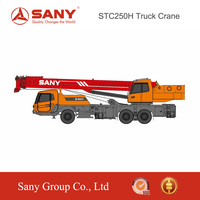 SANY STC250H 25 Tons Long Endurance & Reliability Medium Truck Mounted Crane For Sale