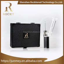 oem acceptable Rockit 3 in 1 portable Erig kit electric vaporizer for cbd wax vape pen