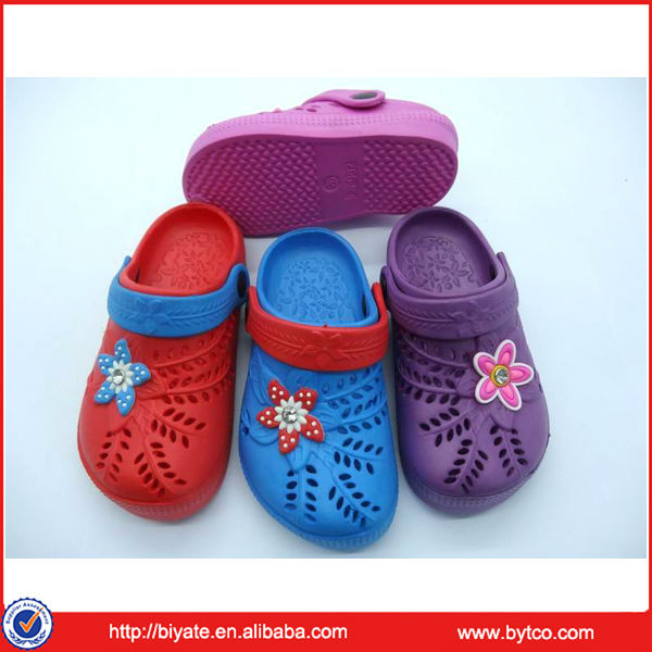 Comfortable unisex eva kids clog shoes