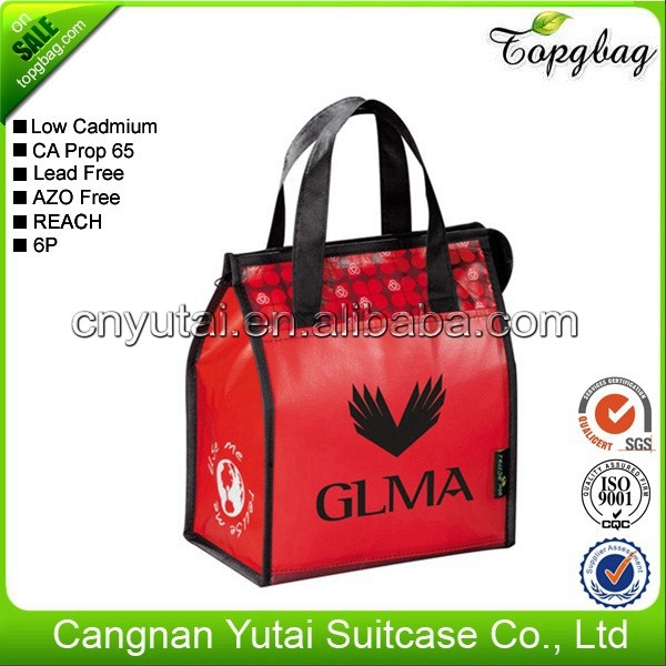 New design clear fashion football cooler bag