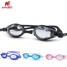 Adults and kids swimming glasses silicone free anti-fog custom swimming goggles