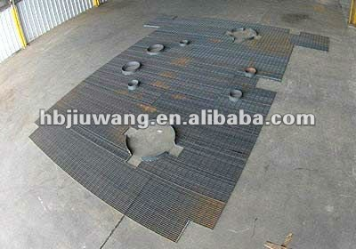 special shaped HDG steel grating