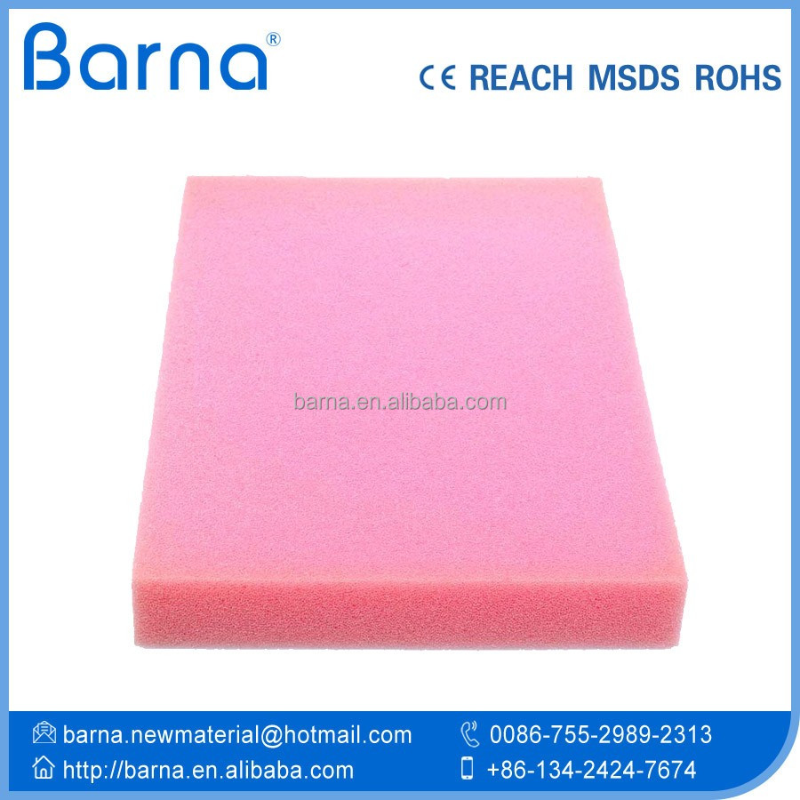 aquatic tank/sink/pool filtering sponge foam,breathable colorful filter sponge foam for air pump/conditioner