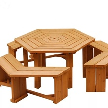 MSH-G001 Wooden Garden <strong>furniture</strong> outdoor tables waterproof garden <strong>furniture</strong> for sale