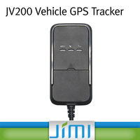 JIMI Hottest gsm car tracker and alarm with sms functions with free tracking platform JV200