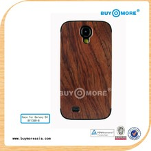 2014 New Wooden Stylish Case Cover For SAMSUNG GALAXY S4 i9500 Wood Case Cover