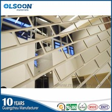 Guangzhou Acrylic mirror manufacture Olsoon decorative acrylic tile wall panels