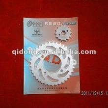 motorcycle plastic machine sprockets and chains kit