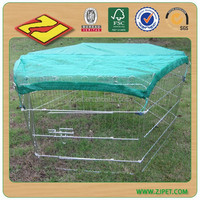 Rabbit cage/metal wire pet cages/wire rabbit cage(factory) DXW007