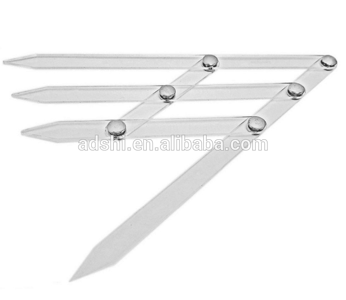 New Arrival Acrylic Golden Ratio Divider For Eyebrow