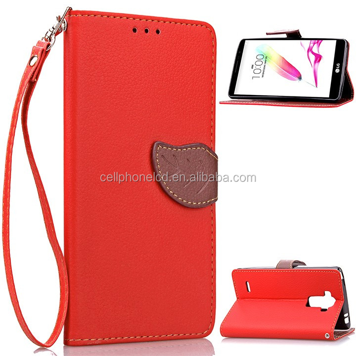 Mobile Phone Case for LG G4 Stylus Leather Flip Case