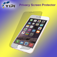 Clear 9H Privacy Tempered Glass for Smartphone, High Transparent Anti Spy Screen Protector For Iphone//
