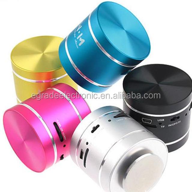 Dwarf 360 Vibration Bluetooth Speaker Mini Speaker Portable Vibration Speaker with USB SD Reader