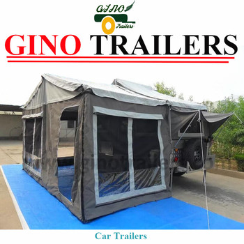 Hot selling outdoor off road soft floor camping trailer