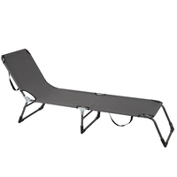 Easy Folding Outdoor Furniture relaxation General Specific Use Beach Camping Bed Chair
