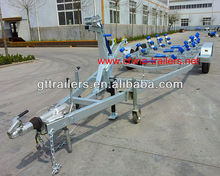 Double Axle Boat trailer TR0225 Long Boat Trailer