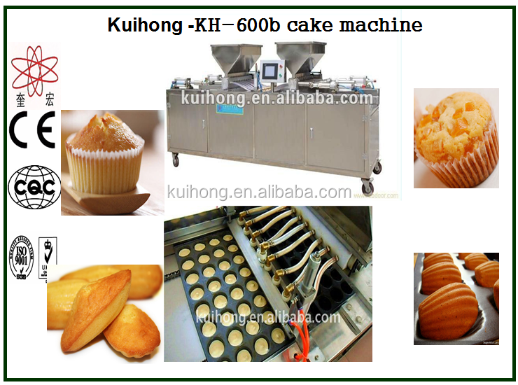 Electric cake maker/industrial cake production line/automatic cake machine