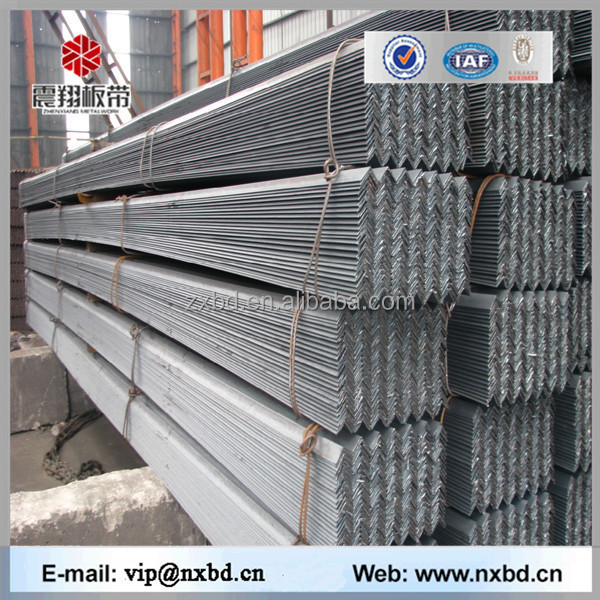 Hr tensile strength of mild steel standard steel angle iron weights