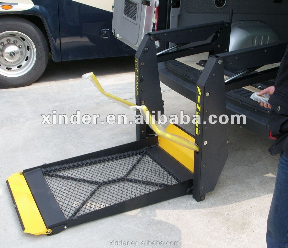 WL-D-880 350KG Loading Disabled Table Wheelchair Lift for Van and Minivan