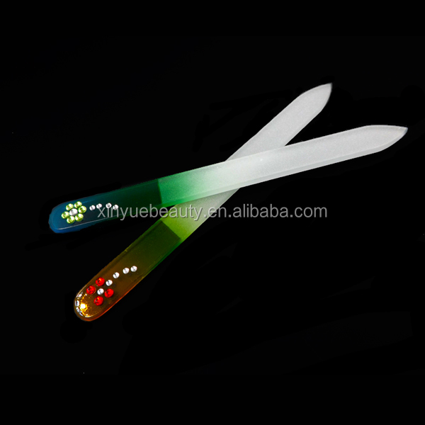 glass nail file in case custom printed nail file professional