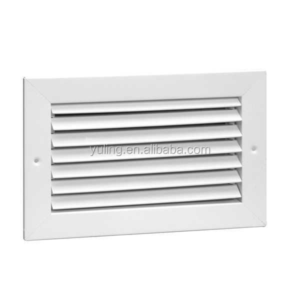 HVAC fixed type aluminum linear slot diffuser air grille