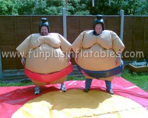 Foam padded sumo wrestling suits for kids and adults F6025