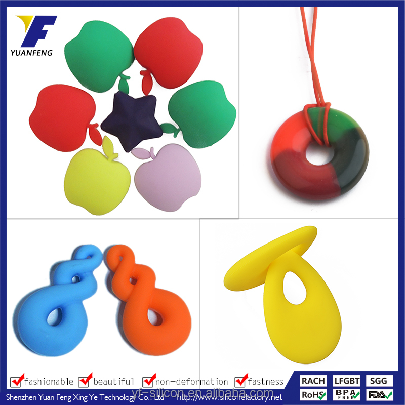 Funny BPA Free Baby Teething Toys Soft Food Grade Silicone Baby Teether