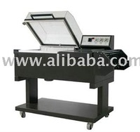 2in1 shrink wrapping/seals machine