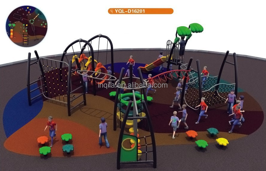 Good quality school outdoor body exercise playground equipment
