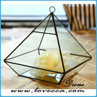 MAX- Guangzhou Dione Glass Geometric Terrarium Table Ornament