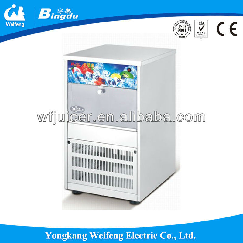 Long refrigeration commercial home snow ice machine ice cube machine