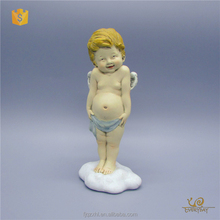 Factory Sale Cheap Baby Jesus Mini Figurine Small Boy Resin Angel Figurines Wholesale Decoration