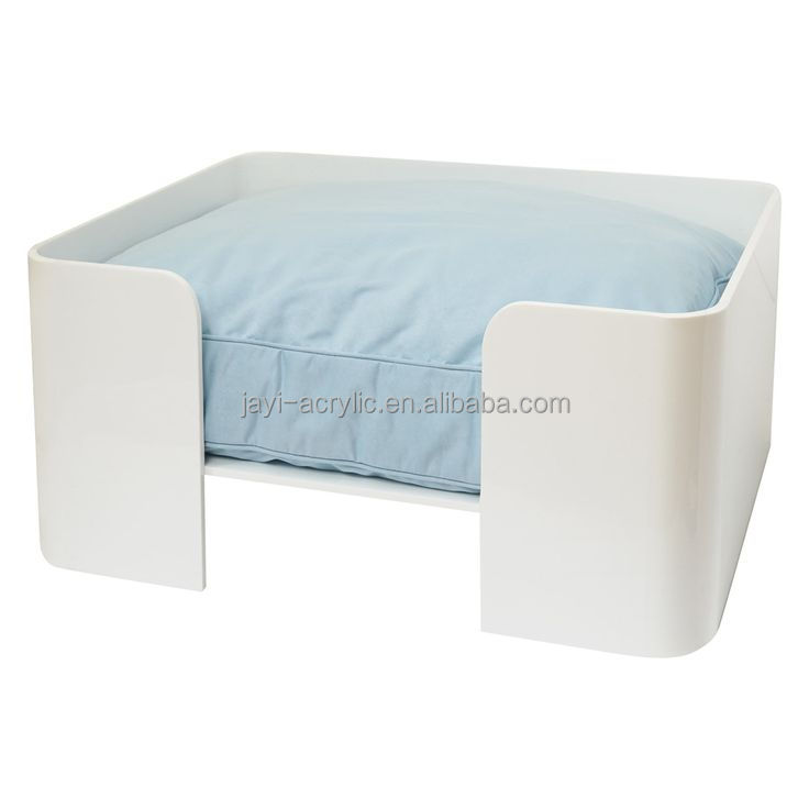 JYDB-004China manufacturer wholesale acrylic cheap pet bed for dog/designer dog bed/dog sofa bed