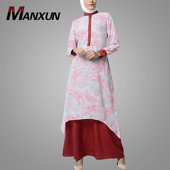 Wholesale Fashion Long Dress Long Sleeve High Quality Moroccan Ladies Islamic Clothing In Muslim Abaya