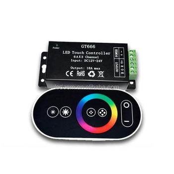 High quality touch screen rgb led controller