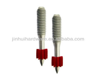 TS3/8 Threaded Pins with flute/Threaded Studs factory