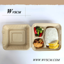 compostable disposable catering lunch boxes 3 compartments